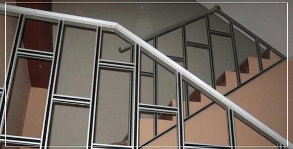 Pasamanos Y Barandales De Aluminio Corporación Santa Cruz